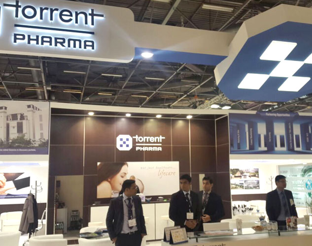 Torrent Pharma, CPhI Worldwide, Paris, France, 2014