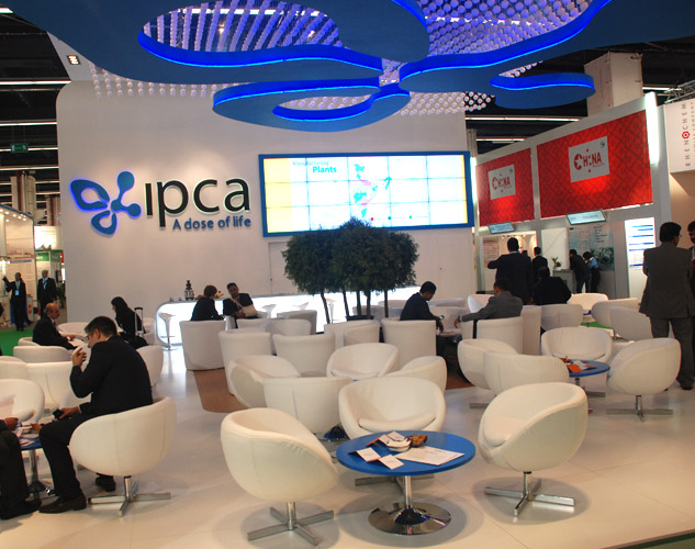 Ipca, CPhI Worldwide, Frankfurt, Germany, 2012
