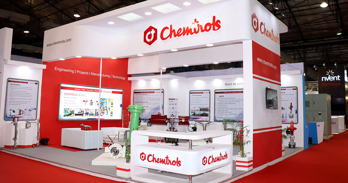 Chemtrols, Automation Expo, Mumbai, 2018