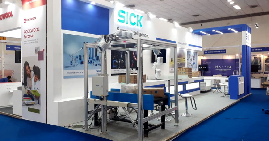 Sick India, India warehousing Expo, New Delhi, 2018