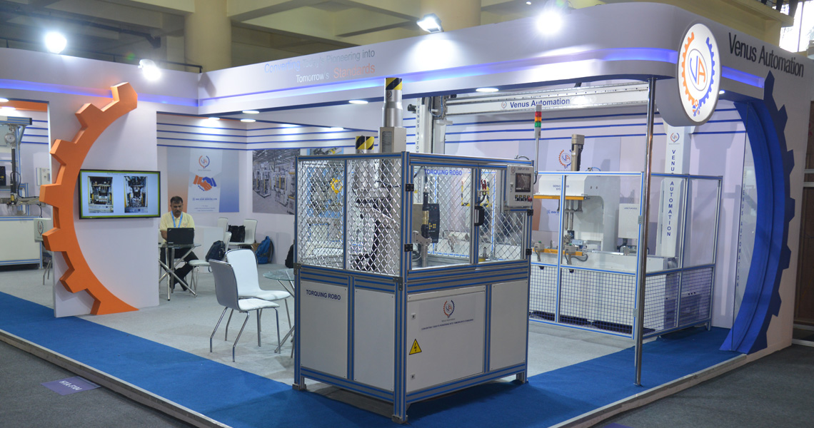 Venus Automation, IMTEX, Banglore, 2019