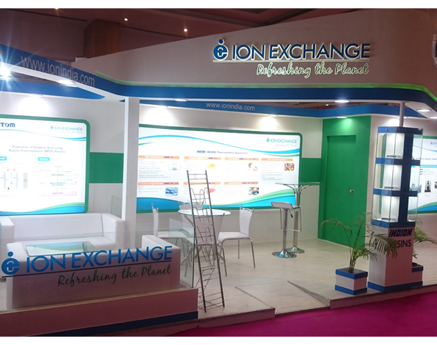 Ion Exchange, CPhI India, Mumbai 2016