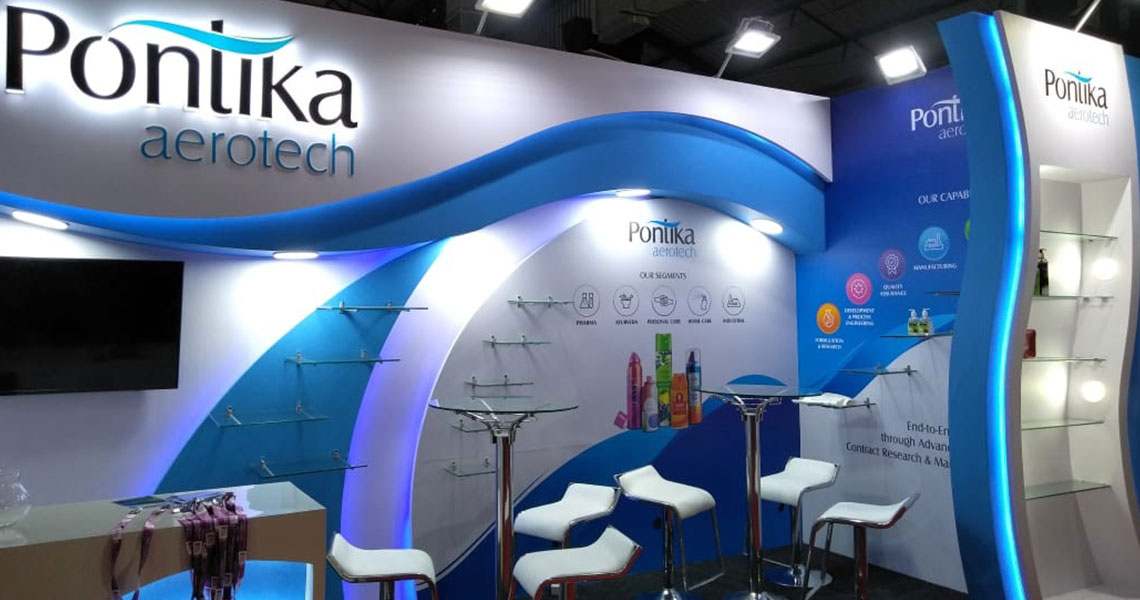 Pontika, Indian Aerosols Expo, Mumbai, 2019