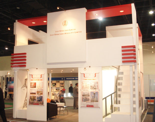 Jyoti Stuctures, Africa Power and Electricity Congress Exhibition, Johannesburg, 2008