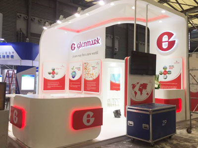 Glenmark, CPhI, China, 2017