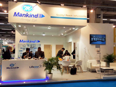 Mankind Pharma, CPhI, Worldwide, Frankfurt, Germany, 2017