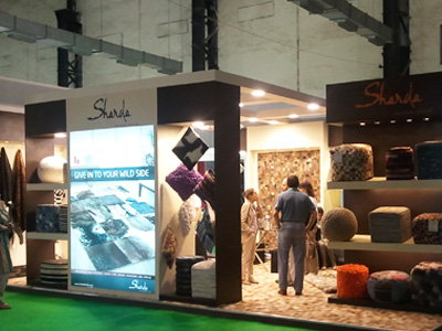 Sharda Exports, India International Furniture Fair, Mumbai, 2011
