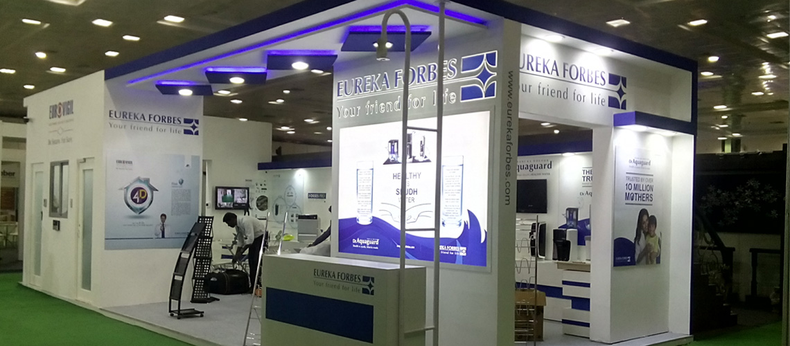 Exhibition Stall Set Up : Exhibition stall fabrication